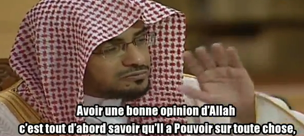 Post image for Avoir une bonne opinion d'ALLAH !